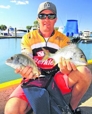 Russell Babekuhl found quality fish both days in a tough Bribie Island event to claim the win.