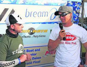 The win at Bribie Island secured Babekuhl the 2012 Humminbird BREAM Angler of the Year title.