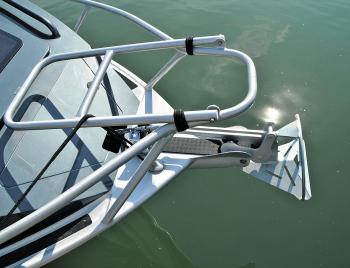 Clever options – like the bow-boarding ladder are all well executed and practical in design.