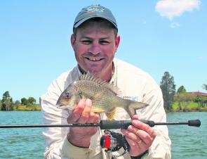 Flats bream might not always be big but they are plentiful.