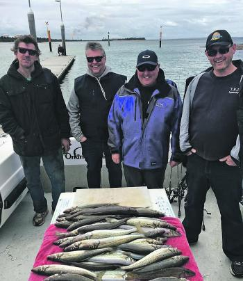 Online Charters and a bag of healthy Middle Spit whiting.