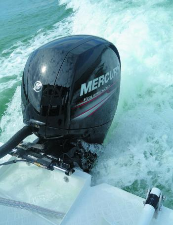 The power plant: Mercury's 150 EFI 4-stroke.