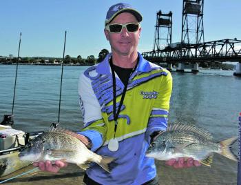 Anglers were chasing a bag limit of four bream with a minimum length of 26cm to the tip.