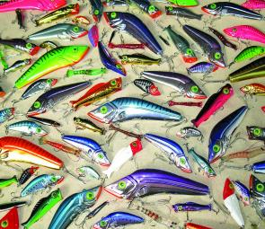 Rio's Lures are tough and catch fish. Check out his range at the Aussie Lure and Fly Expo.