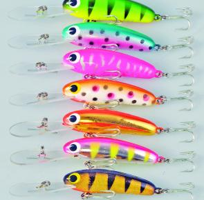 Drop by the Lively Lures' stand and grab a Micro Mullet for only $10. Bugger that, grab half a dozen at that price!