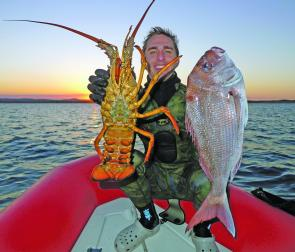 This crayfish and snapper are some of the best species to target this month.