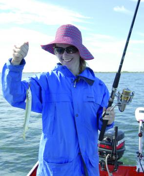 Garfish are great fun for kids as Amanda Smart shows.