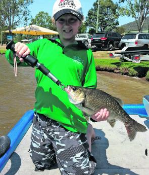 The Spit at Lake Somerset will be worth a look for bass this month.