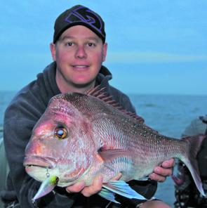 The new LV-RTO Vibe from Lucky Craft was the undoing for this bay snapper measuring in at 72cm.