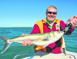 Will the Aussie salmon turn up again this year? Let's hope so as they are sensational fun.