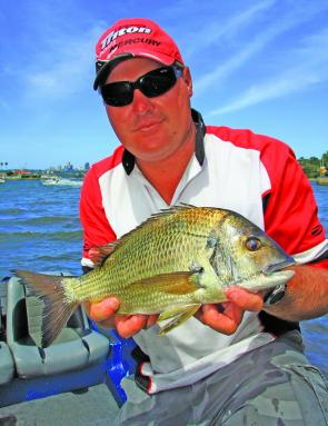 Scott Butler found the big fish during the tournament, securing Daiwa Big Bream prizes on both day one and day three.