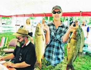 The Brogo Bass Bash each year is used to raise funds for continued stocking of the reservoir with bass fingerlings.