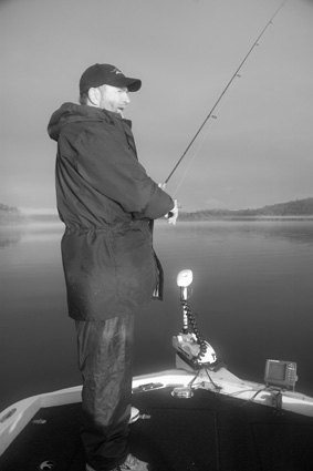 Plenty to look forward to: Anticipating an early morning fish on Wonboyn.