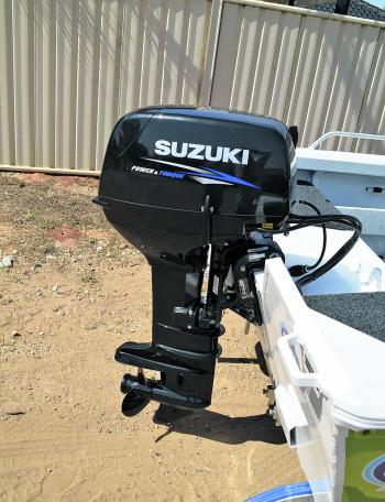 The Clark 410 Kakadu SC had power to burn with the Suzuki 40hp 2-stroke on the back of it.