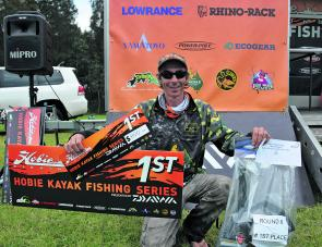 Ronnie Sonter won the event with a 6/6, 3.82kg bag. It was his second Hobie Kayak BREAM Series victory.