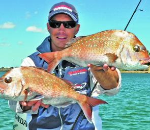 Quality snapper are still around for soft plastic enthusiasts. Photo courtesy Brent Hodges.