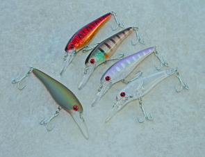 New classy finishes have really made these budget priced Lightning Minnows look the goods.