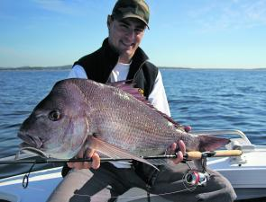 Snapper will be over the inshore reefs this month and willing to take soft plastics.