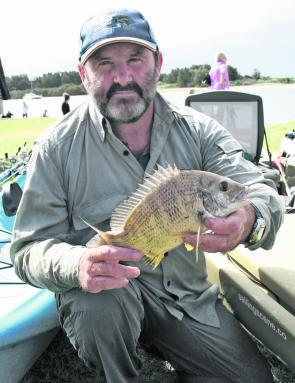 Top Hobie kayak Angler Peter Woods will be on the Hastings this month hunting down bream.