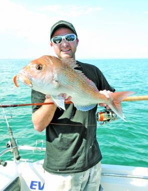 Plenty of reds this season are being taken on lures instead of baits.