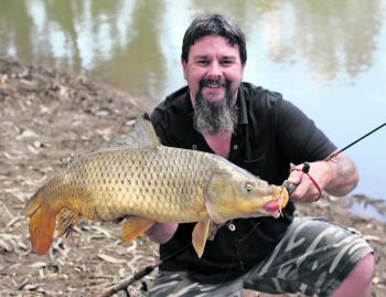 During June you can still catch carp in the Ovens River in Wangaratta. They slow down a bit in the cooler weather, but will still bite if you're prepared to be patient.