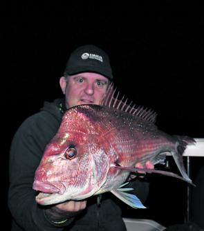 Winter means there are good quality snapper from the shallows out to the deeper reef areas.