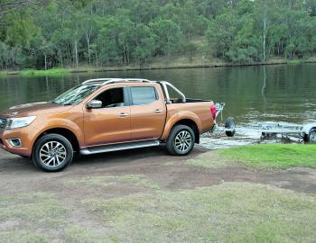 Rugged good looks give the new NP300 Navara a substantial road presence.