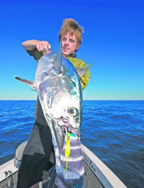 Tuna time anyone? Blades will catch deeper feeding tuna all day long if you want to stretch your muscles for that long.