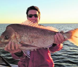 The shallows of the bay islands can produce some quality snapper for those who make the effort as found out recently.