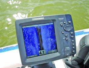 The Humminbird Side Imaging technology is fantastic in lakes for hunting barra.