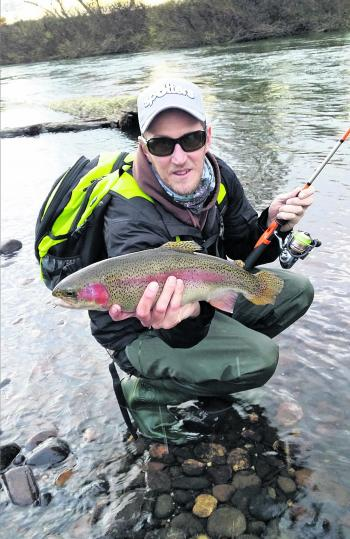 A good winter and lots of snow has given the newly released trout a good start in the rivers.