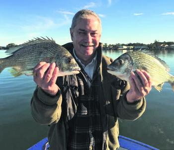 Martin Denlow with some good bream after the recent bad weather.