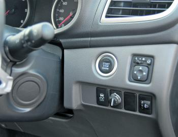 Keyless start up is just one of the Triton Exceed's features.