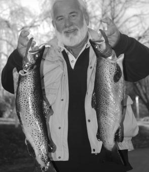 Ross Hunter is not only a great saltwater charter boat operator but also a keen fly fisherman. Here are two fish he decided to keep for the table.