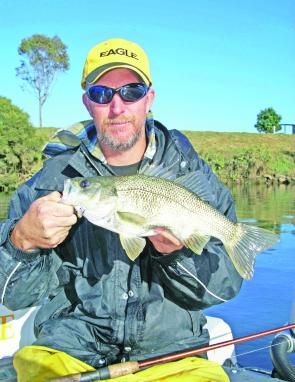 There were large numbers of Bass in the brackish zones over Winter and they should be heading upstream and hungry now.