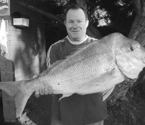 More snapper of over 10kg have already been weighed at Launching Way this season than in the whole of least season (photo: Trevor and Lynette Hogan).