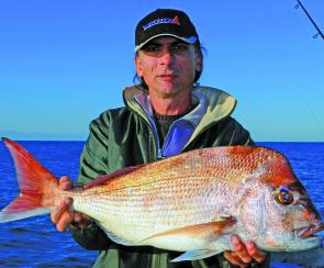 Some decent snapper have been caught off the coast lately and there's still a chance of running into a few this month.