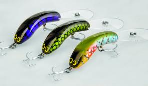 The new, mid-sized Goulburn Codger Lures are magic and will appeal to casting anglers and trolling anglers.