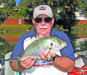 Golden perch have been caught in the Goulburn River on deep diving lures.