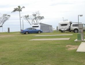 Caravan owners are certainly not forgotten as there are plenty of concrete pads on hand.