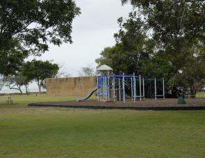Children can enjoy this playground under the watchful eyes of parents in the Park.