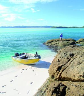 The Whitsunday Islands hold an amazing amount of beaches and shorelines to fish from.