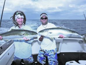 There are still some big kingfish to be caught, especially on jigs in deeper water.