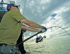 The Shimano T-Curve rod and the Daiwa Saltiga reel is an excellent jigging outfit.