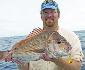 Using 20-40lb braid is usually ideal when snapper jigging, especially in south east Queensland.
