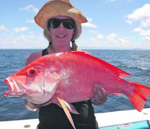 Quality sized red species are a speciality on the Great Barrier Reef during the winter months.
