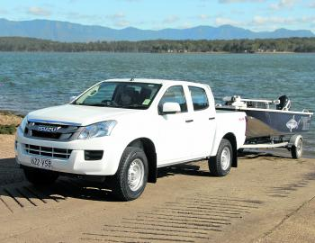 Easy power from the Isuzu 3L diesel saw a fuel consumption of 8.3L per 100km on a run to and from Moogerah Dam.