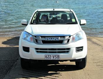 Tidy frontal styling is a feature of D-Max styling.