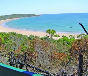 The view from Bustard Head is simply spectacular offering a 360o panoramic view of the area.