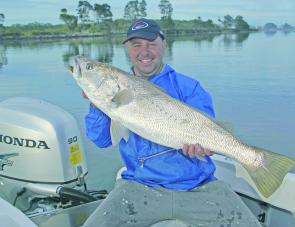 Mulloway numbers usually improve as we head into Winter, though recent illegal netting activities certainly aren't helping.